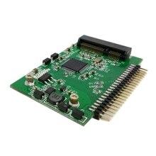 50 шт./лот низкопрофильный Половинной Высоты mSATA mini PCI-E SATA SSD до 2.5 дюймов IDE 44pin Ноутбук Ноутбук жесткий диск PCBA, Бесплатная доставка