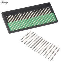 30pcs Diamond Cutters for Manicure Electric Rotate Burr Nail Drill Bits Milling Cutter for Pedicure Manicure Nail Accessories