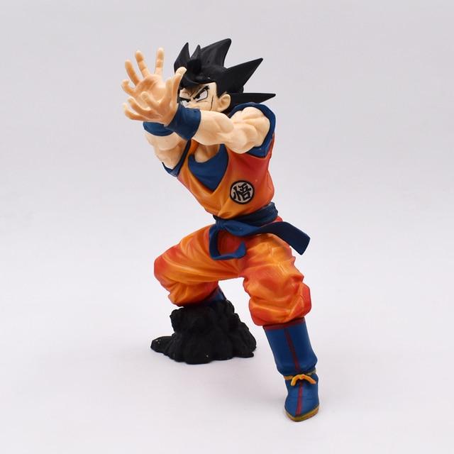 Dragon Ball Z Goku Figuras da Onda de Choque 21 cm Dragonball Super Saiyan Goku PVC Action Figure Model Collection brinquedos