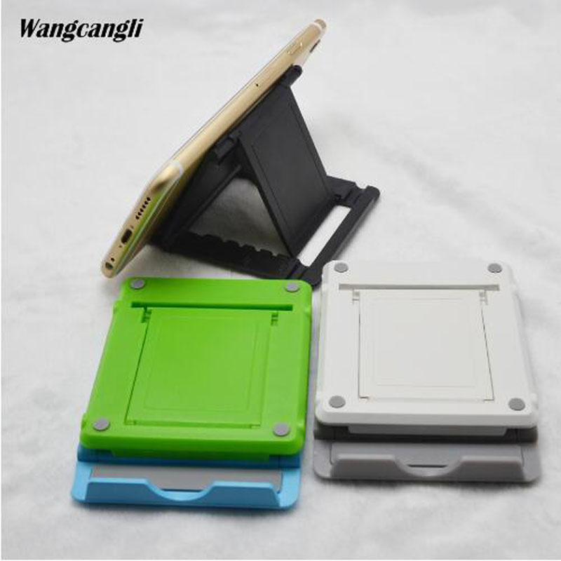wangcangli Universal Adjustable Foldable CellPhone Tablet Desk Stand Holder Smartphone Mobile Phone Bracket for iPad Samsung