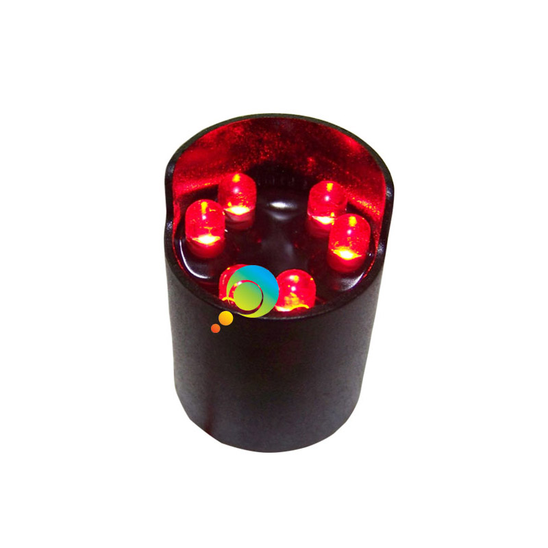 125mm High Brightness Red Green Led Traffic Signal Cold-rolled Plate Housing Traffic Light Elegant In Style Security & Protection Traffic Light