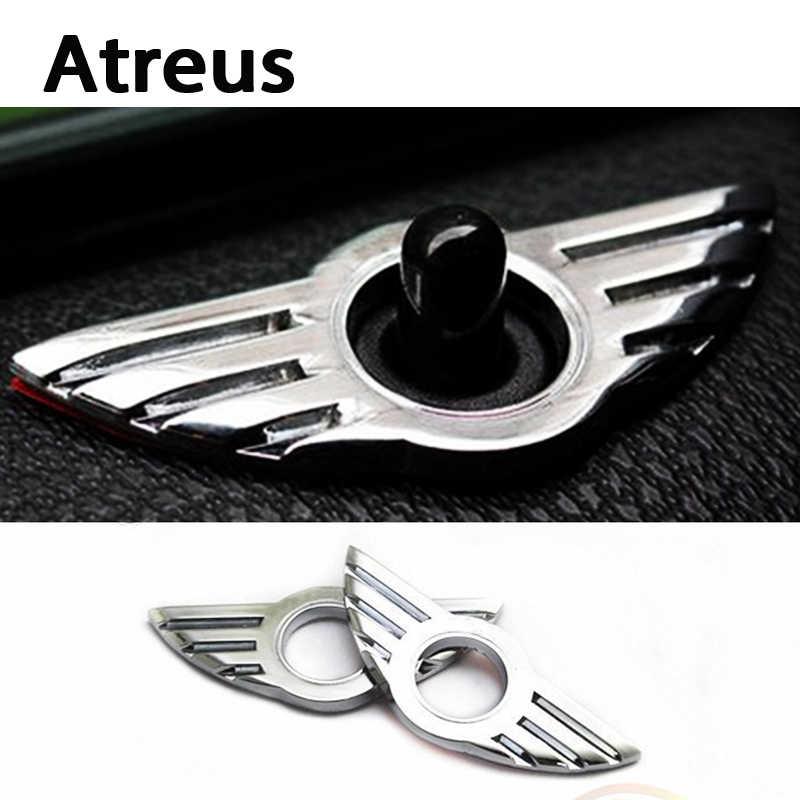 Atreus 1 шт. для Mini Cooper Countryman R56 R50 R53 F56 F55 R60 R57 автомобильные аксессуары дверной замок эмблема на крыло значок наклейки