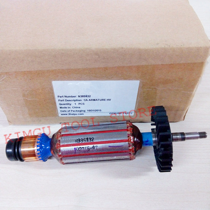 ARMATURE 220-230V Rotor N389432 Replace For Dewalt DWE8210S DWE8200S DWE8200T DWE8212S DWE8211S DWE8210P DWE8202T DWE8202SARMATURE 220-230V Rotor N389432 Replace For Dewalt DWE8210S DWE8200S DWE8200T DWE8212S DWE8211S DWE8210P DWE8202T DWE8202S