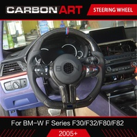 M4 steering wheel for BMW M Series F10 F30 F32 M4 F80 F82 F10 M5 F06 F12 Replacement Carbon Fiber Steering Wheel 3 4 5 6 series