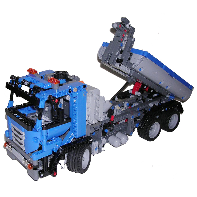 Lepin 20027 Container Truck building bricks Toys for children Game Model Car Gift Compatible with Decool Bela 8052 2017 enlighten city series garbage truck car building block sets bricks toys gift for children compatible with lepin