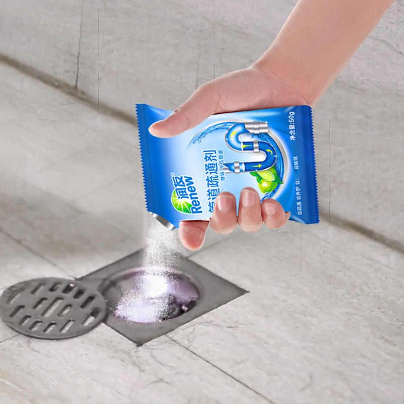 עוצמה כיור ניקוז ניקוי מקלות ביוב טיהור כדי דאודורנט את מטבח אסלת אמבטיה ביוב ניקוי אבקת 50g/pac