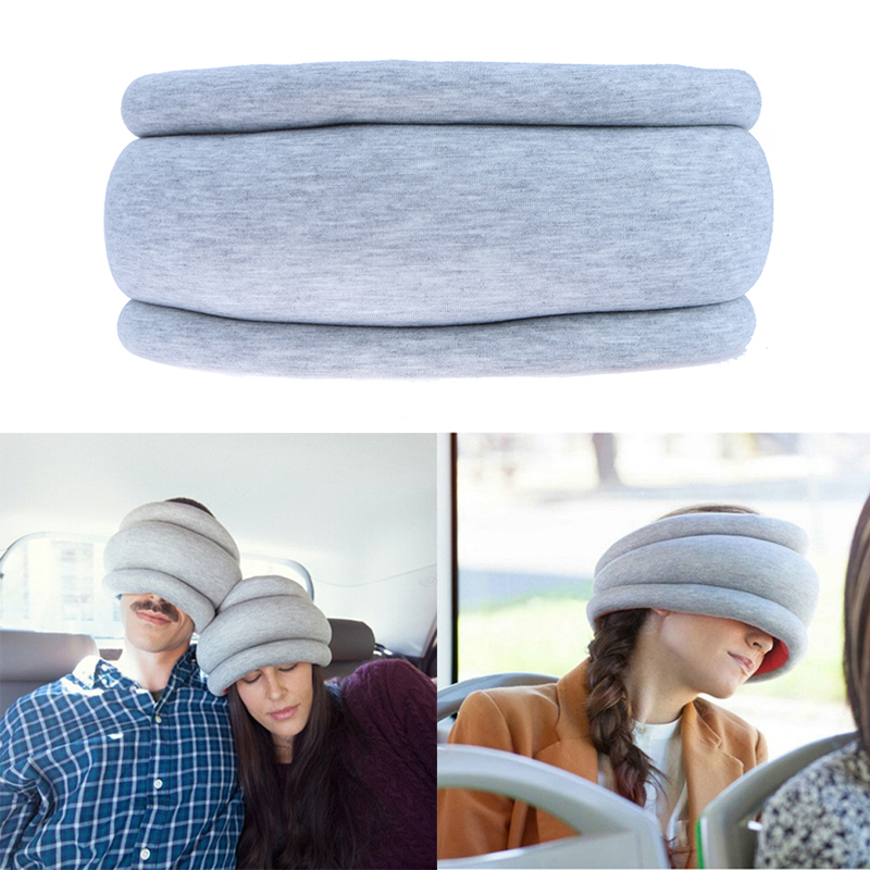 office sleeping pillow. 2017 creative portable magical ostrich sleeping pillow office car f