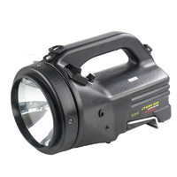 Built in large capacity battery rechargeable searchlight outdoor camping hunting 100W HID spotlight handheld xenon search lights