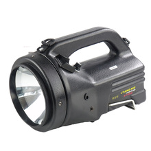 Built-in large capacity battery rechargeable searchlight outdoor camping hunting 100W HID spotlight handheld xenon search lights