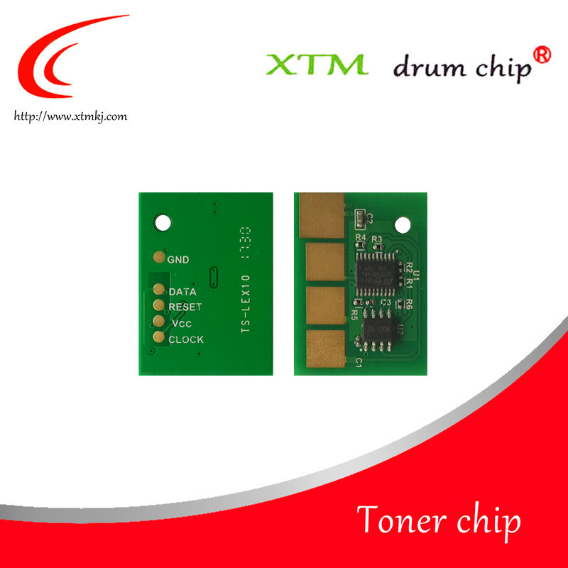 36K Black compatible toner cartridge reset chip for Lexmark X651 X652 X654 X656 X651de X652de X654de