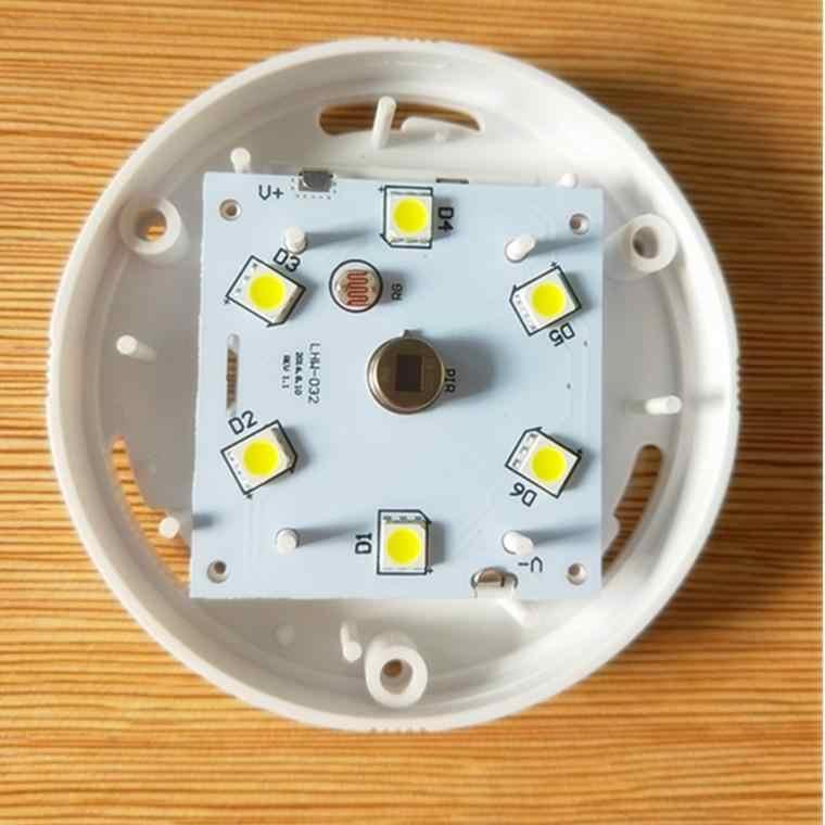 1 шт. 6 светодиодный s ночной Светильник интеллектуальный датчик движения человеческого тела индукционный круглый светодиодный ночник для шкафа лестницы Туалет светильник ing