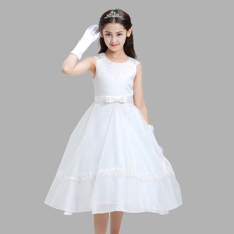 Kids Girls Spanish Dress Floral Princess Wedding Party Pageant Prom Sundress