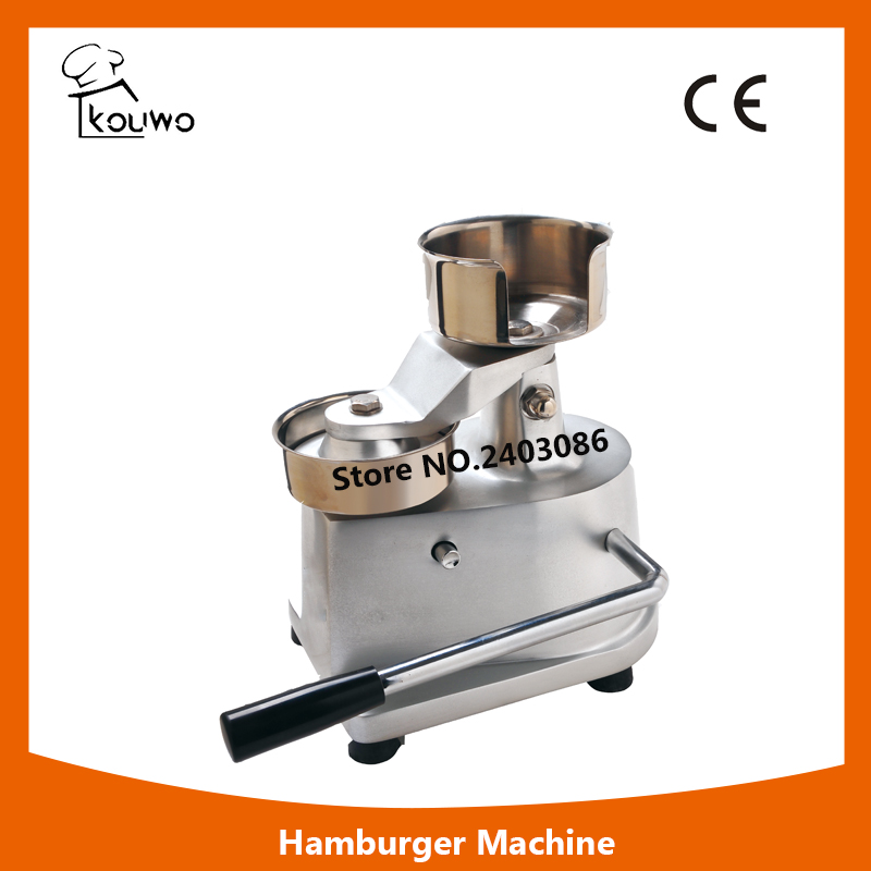 commercial food machinery stainless steel 100mm manual meat hamburger patty press making machine for sales manual metal bending machine press brake for making metal model diy s n 20012