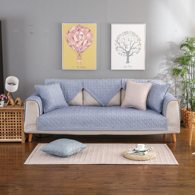 Buy sofa mats non slip sofa cover multi - What size couch for my living room ...