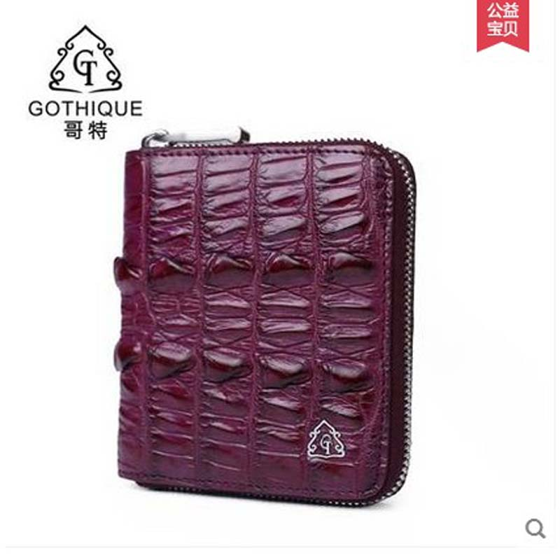2018 gete  new real alligator leather women wallet  high-volume short women purse card bag gete new python leather women handbag lady real snake dinner women purse large capacity grab bag girl women cluth bag wallet
