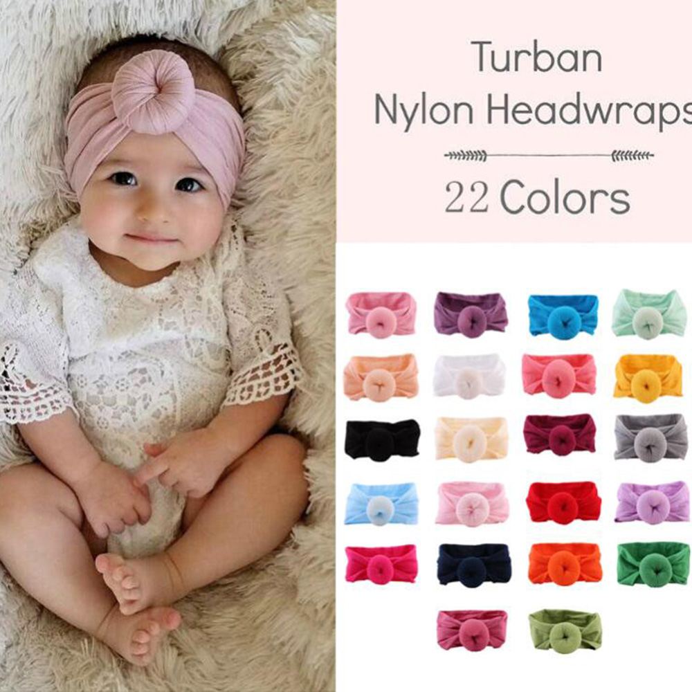 Inventive Kids Girl Baby Toddler Bow Headband Hair Band Accessories Headwear Head Wrap Red Pink Blue Hair Accessories