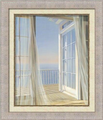 Handpainted Decorative PS Frame Spray Seaside Book Leisure Chair ...