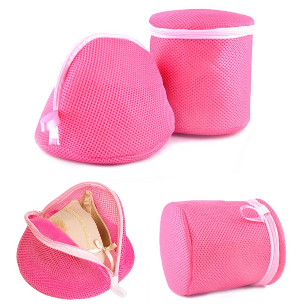 Convenient Mesh Laundry Wash Bags Foldable Delicates Lingerie Bra Socks Underwear Washing Machine Clothes Protection Net Bag