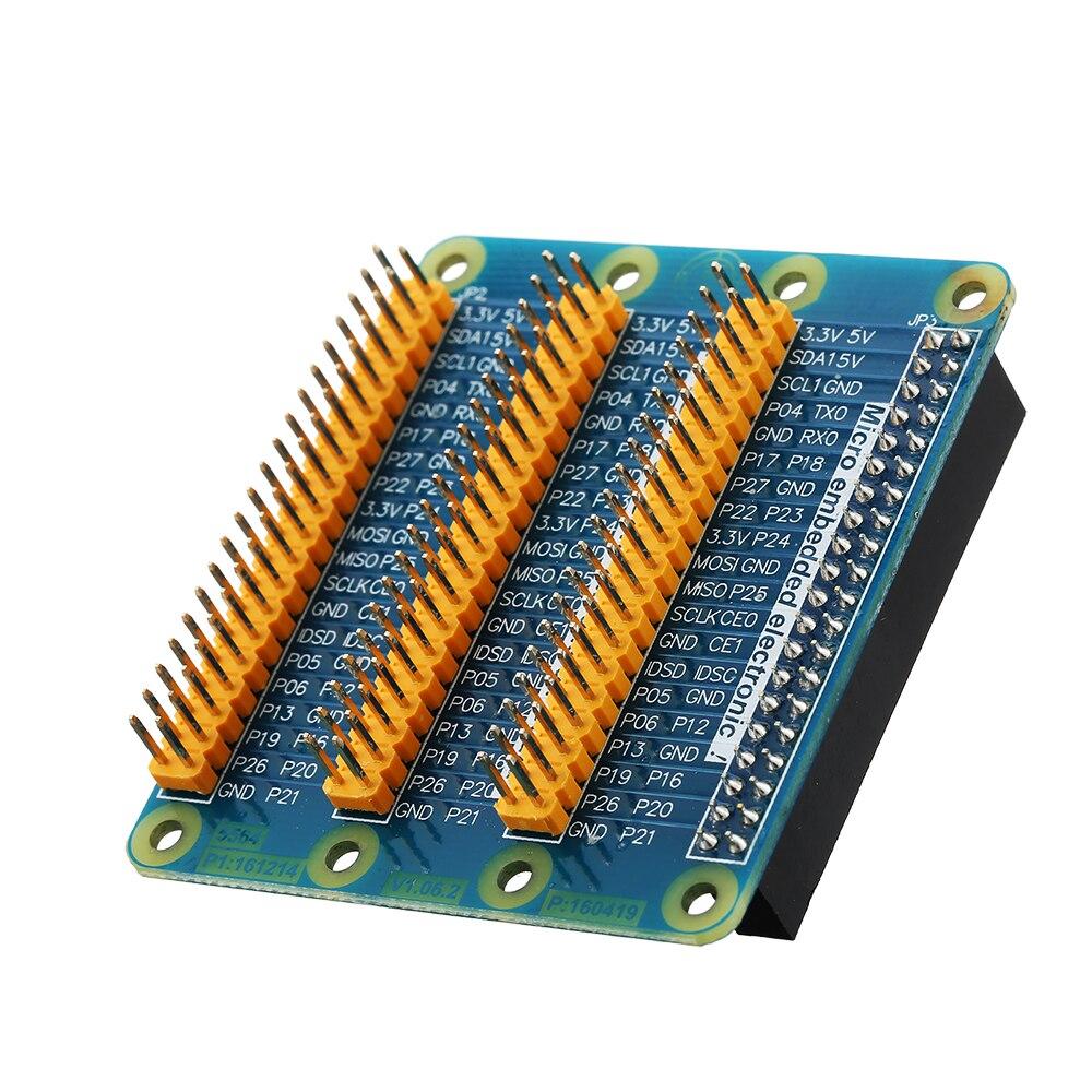 3/6 шт. Плата расширения для Raspberry Pi версия 2/3/b + GPIO последовательный Порты и разъёмы расширения доска