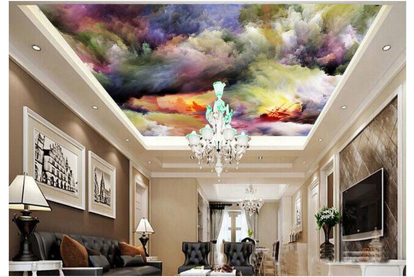 d401453e228841 ᓂPersonalizado 3d foto papel de parede 3d parede teto wallpaper ...