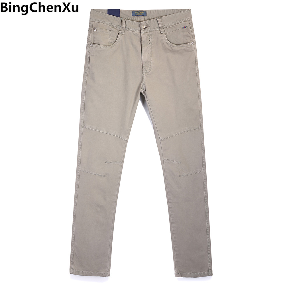 Cargo-hosen Bingchenxu Hosen Männer 2018 Neue Slim Fit Gerade Lange Hose Männlichen Jogginghose Jogger Fashion Pantalon Homme Hüfte Hop Böden 881 Up-To-Date-Styling