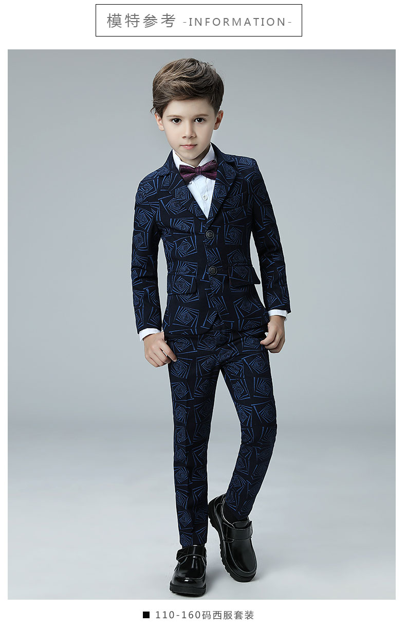 2018 spring boys suits for weddings kids prom suits floral england ...