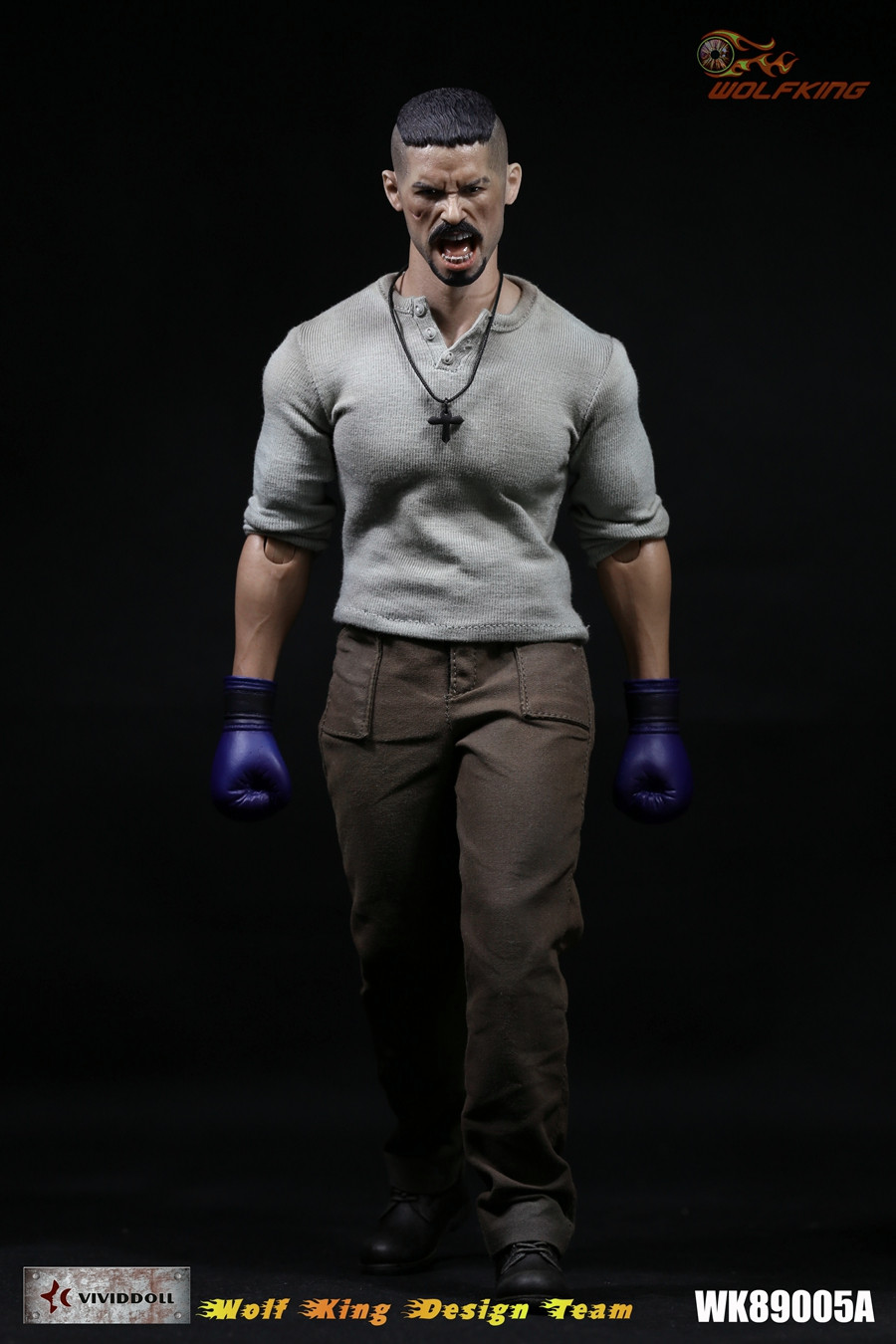 1/6 figure doll Scott Adkins clothes with undisputed Uri Boyka head for 12 Action figure doll accessories.not include body trace adkins live from austin tx