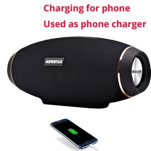 Image 3 - Hopestar H20 Portable Bluetooth Speaker waterproof mp3 Music column Wireless 30W PC tv Sound bar box Stereo Subwoofer for xiaomi