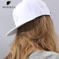 WOYOUYA New baseball cap women summer hip hop Cap female hat embroidery Women's hats pure red baseball cap female B17102