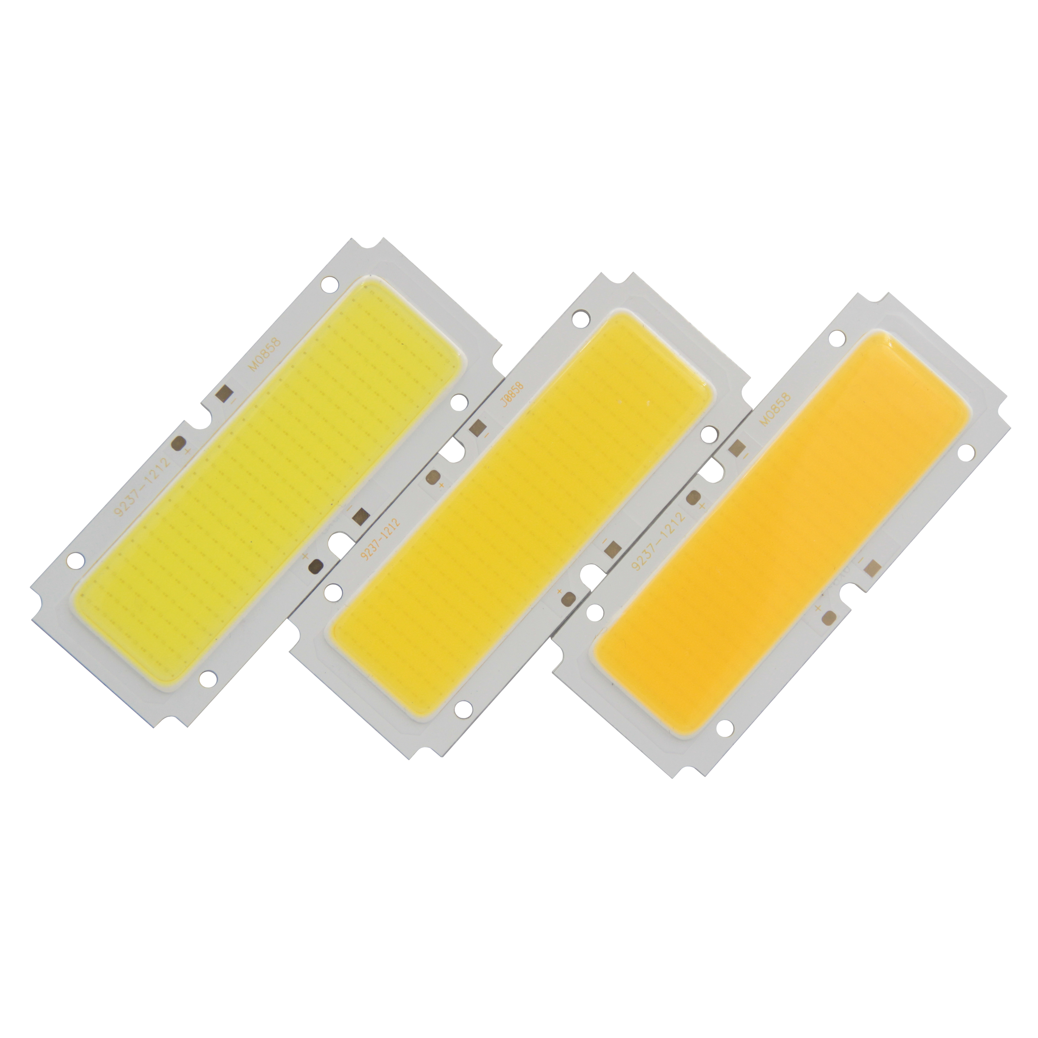 Купить с кэшбэком hot sale 92mm 37mm LED COB Light Source High Power 30W 36V DC nature Warm White LED Strip Chip Module For DownLight DIY lamp