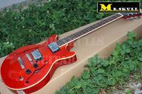 OEM Клин Гитары красный es335 Джаз гитары Полуакустические Топ арочные ES 335 ДЖАЗ Гитары