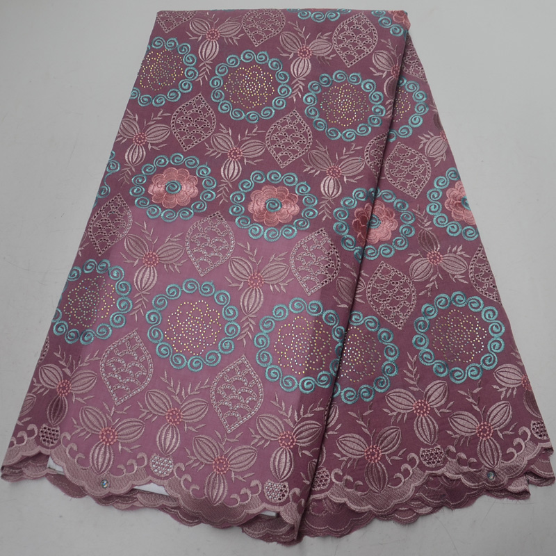 Free shipping (5yards/pc) high quality dusky pink African Swiss voile lace fabric with embroidery and stones for dress CLP307Free shipping (5yards/pc) high quality dusky pink African Swiss voile lace fabric with embroidery and stones for dress CLP307