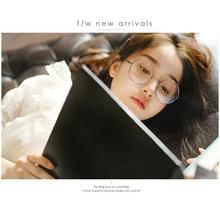 unisex Korean version retro metal circular frame fashion glasses preppy chic