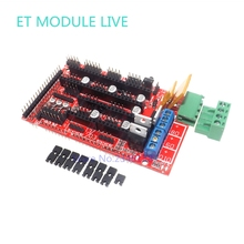 RAMPS 1.4 3D printer control panel printer Control Reprap MendelPrusa for Arduino Mega Pololu A4988 DRV8825