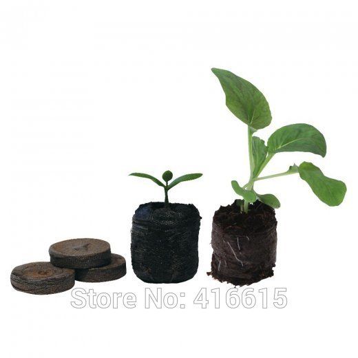 90 Count 25mm Jiffy Peat Pellets Seed Starting Plugs Seeds Starter Pallet Seedling Soil Block Professional Easy To Use