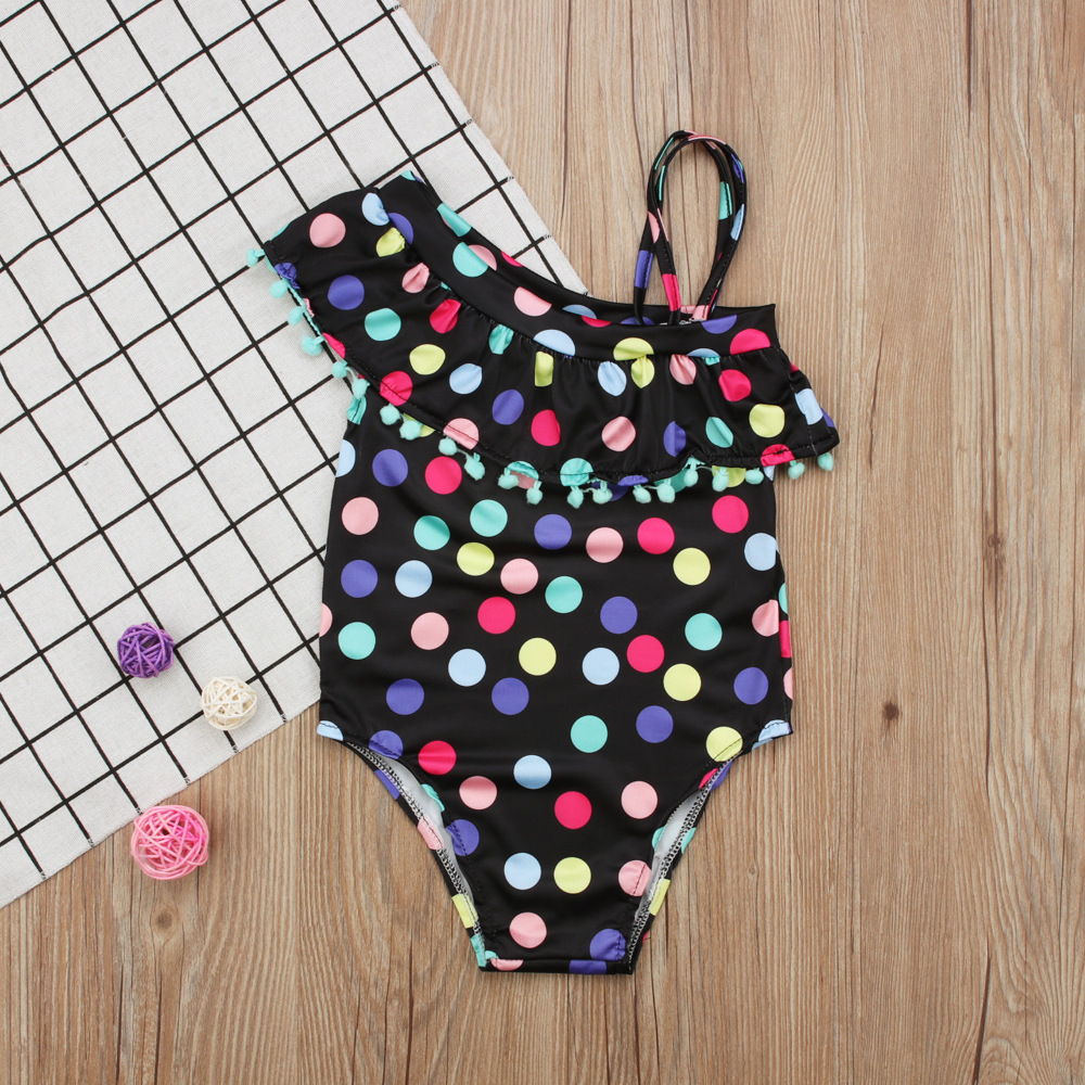 baby meisje kleding zomer meisjes badmode kinderkleding stippen - Babykleding - Foto 2
