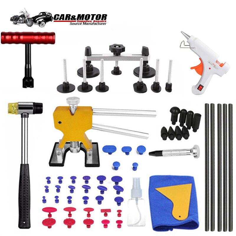 PDR Werkzeuge DIY Auto Körper Ausbeulen ohne Reparatur Werkzeug Set Dent Puller Reverse Hammer Sucker Remover Heber für Entfernen Dent hagel