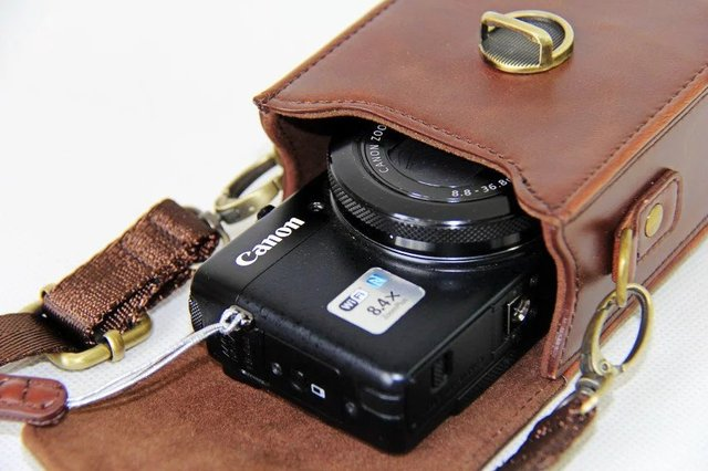 New PU Leather Camera Case For Canon G9X G7X G7X II SX710 SX700 SX720 S95 S90 SX260 SX240 SX275 S90 S120 S110 SX610 SX400 SX410
