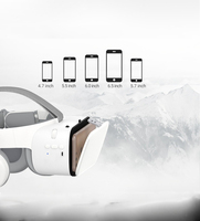 New Z63D Glasses Virtual Reality Casque 3 D Lunette Bluetooth wireless headset VR helmet
