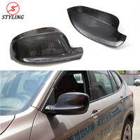 Carbon Fiber Mirror Cover For 2012 BMW X1 E84