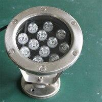Бесплатная доставка, 6 шт. в партии AC 24 В 18 Вт RGB подводный светодиодный светильник Фонтан лампа светодиодный бассейн света доставлены компан