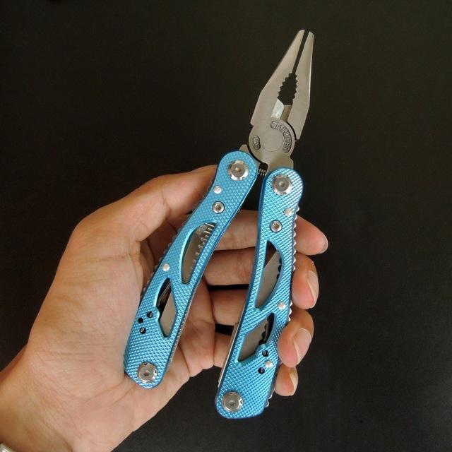 Outdoor Multitool Pliers Repair Pocket Knife Fold Screwdriver set Hand Multi Tools Mini Folding Pocket Portable Fishing Survival