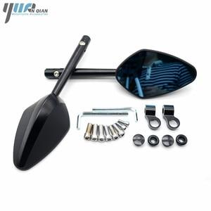 Image 5 - YUANQIAN Honda CBR 600 RC51 CB600F CBR250R MSX125 PCX 125 150 NC750 CB600 Evrensel Yan Ayna Scooter Dikiz Aynası