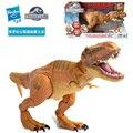 Оригинал Tyrannosaurus Rex Динозавра Юрского Парка Мира звук совместное движимое Супер Король Дракон Velociraptor дети ABS/ПВХ игрушки