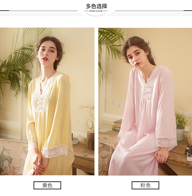 Chinese nachthemd temperament mouwen 4