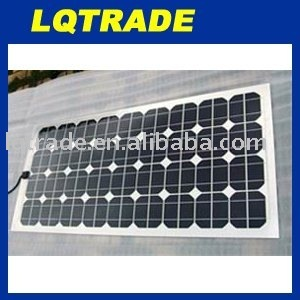 Monocrystalline Flexible Solar Panel 80W/18V