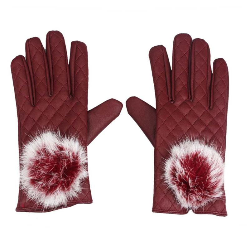 snowshine2#4501 Cycling Gloves Womens Touch Screen Winter Outdoor Warm Gloves