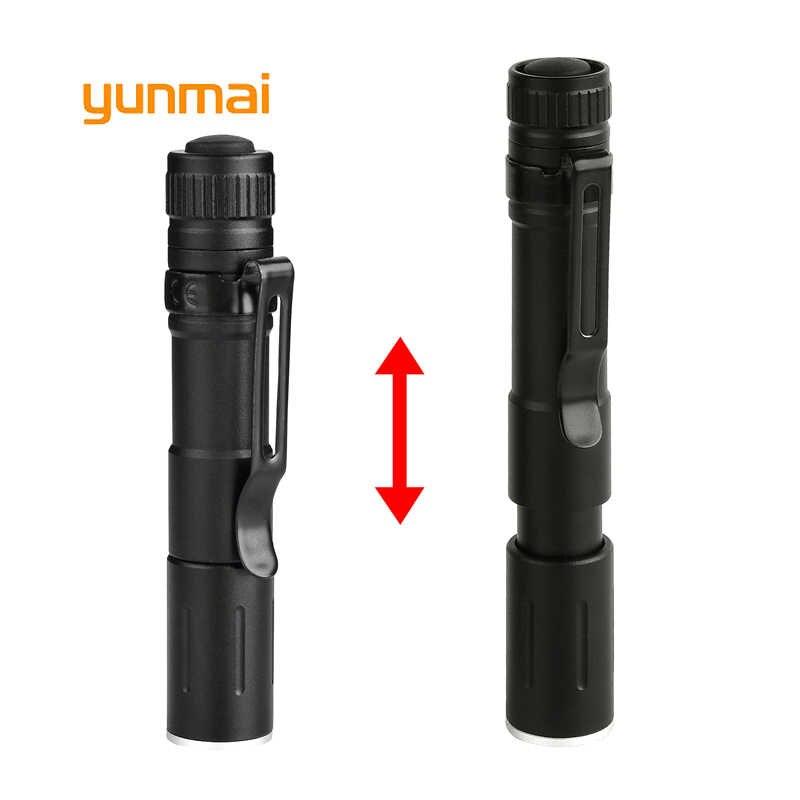Mini latarka w kształcie długopisu nowy UV 1000LM latarka LED latarka kieszonkowa latarka wodoodporna latarka bateria AAA, wydajne diody Led na dla wykrywacz pieniędzy