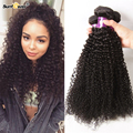 """Unprocessed 7a ali pop hair 4pcs mongolian afro curly human hair weaves tight Virgin kinky curl extensions 8""""-32"""" natural color"""