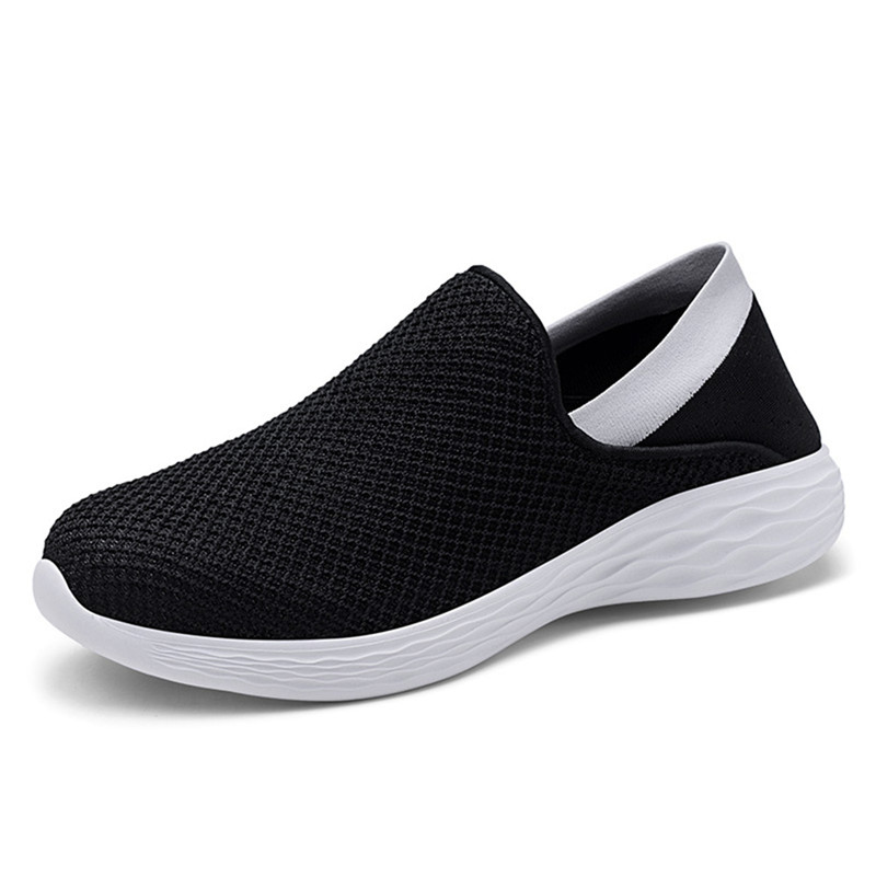 Spring Shoes Men Breathable Sneakers Unisex Outdoor Flat Shoes Autumn Casual Shoes Mesh Flats Slip-on Loafers zapatillas hombre